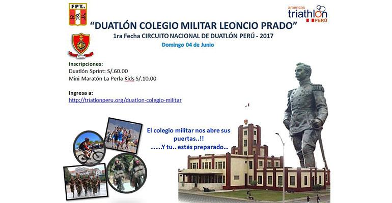 Duatlón Colegio Militar Leoncio Prado 2017