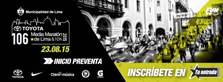 106 Toyota Media Maratón de Lima & 10K