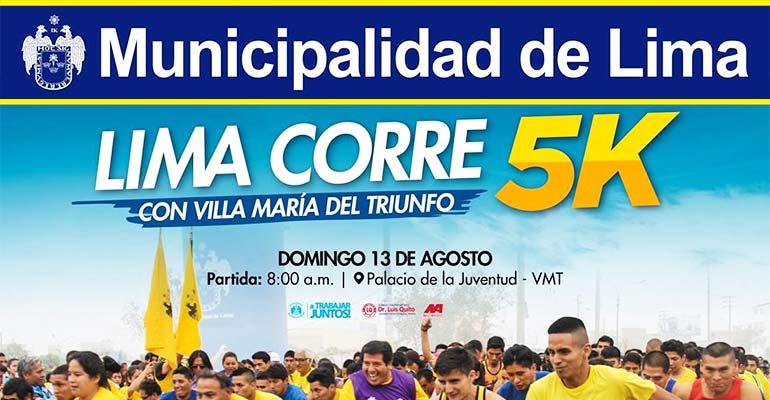 Lima Corre con Villa María del Triunfo 5K 2017