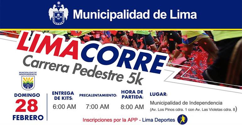 Lima Corre Independencia 5K 2016