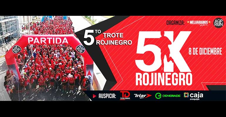 Quinto Trote Rojinegro 5K 2017