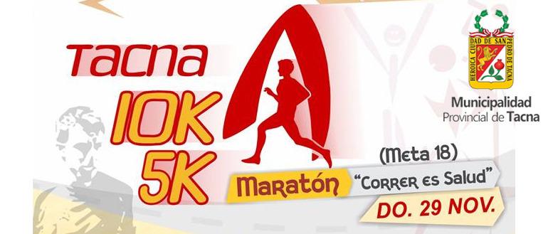 Maratón Tacna 10K 2015