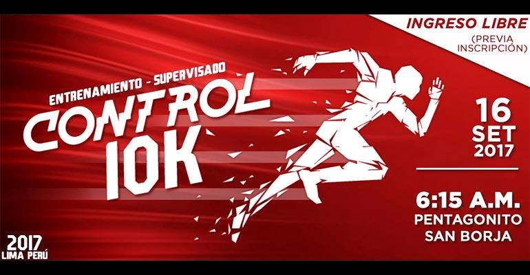 Sub 4 Perú: Control 10K - 16 Septiembre 2017