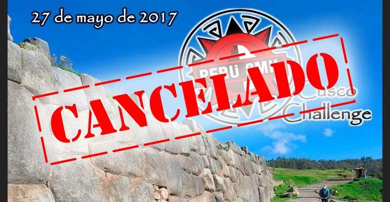 Perú 8mil Cancela El Cusco Challenge 2017