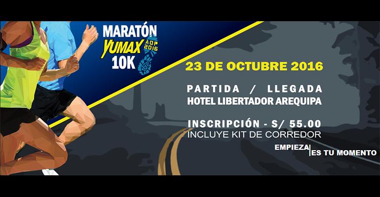 Maratón Yumax 10K AQP 2016
