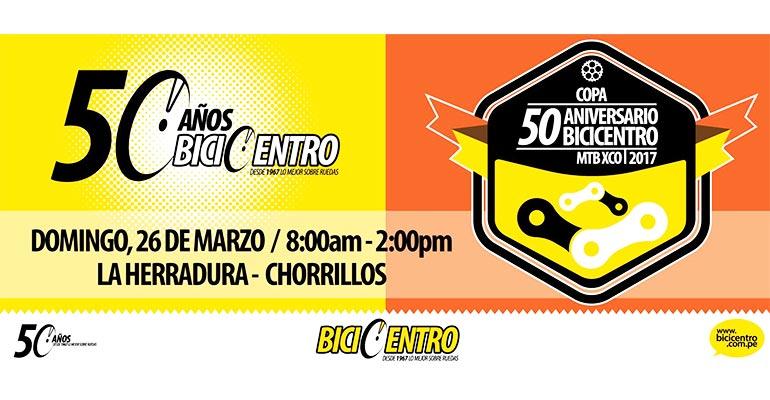 Copa 50 Aniversario BiciCentro MTB XCO 2017