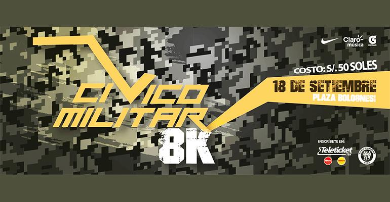 Carrera Cívico Militar 8K 2016