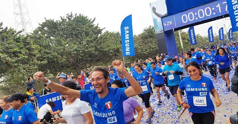 Samsung 10K: más de 10 mil personas se congregaron en la carrera por el Día Olímpico