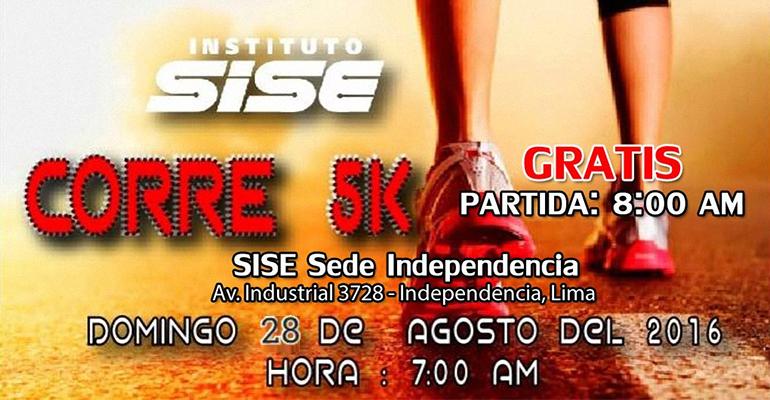 SISE Corre 5K 2016
