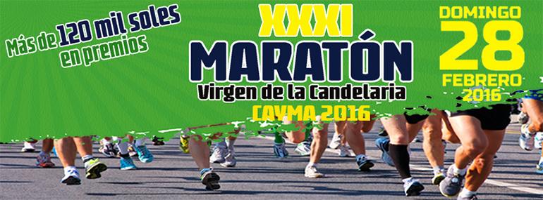 Maratón Virgen de la Candelaria de Cayma 2016