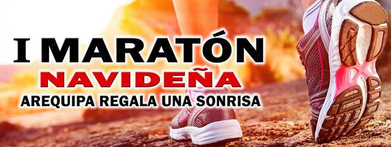 I Maratón Navideña 10K 2015 Arequipa Regala una Sonrisa