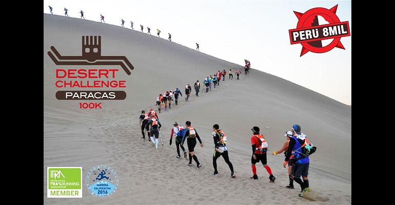 Perú 8mil Desert Challenge Paracas 100K 2017