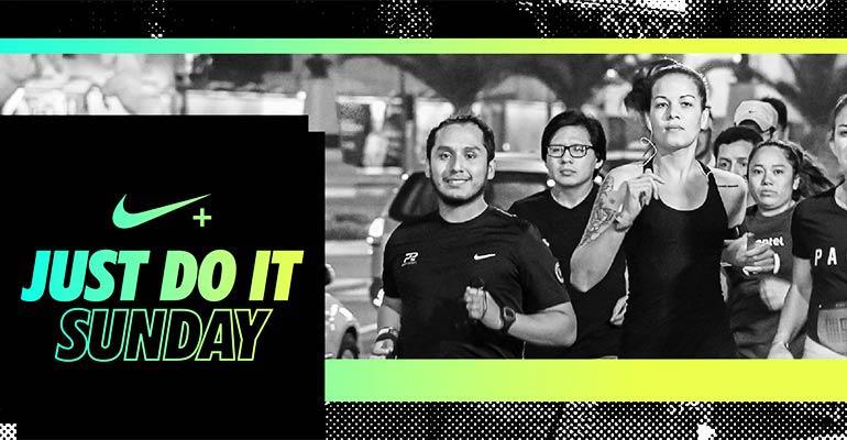 Nike NRC Just Do It Sunday - 25 Junio 2017