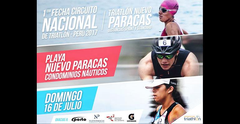 Primera Fecha del Circuito Nacional De Triatlón 2017