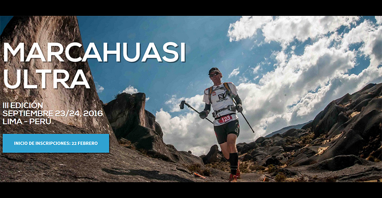 III Marcahuasi Ultra Trail (MUT) 2016