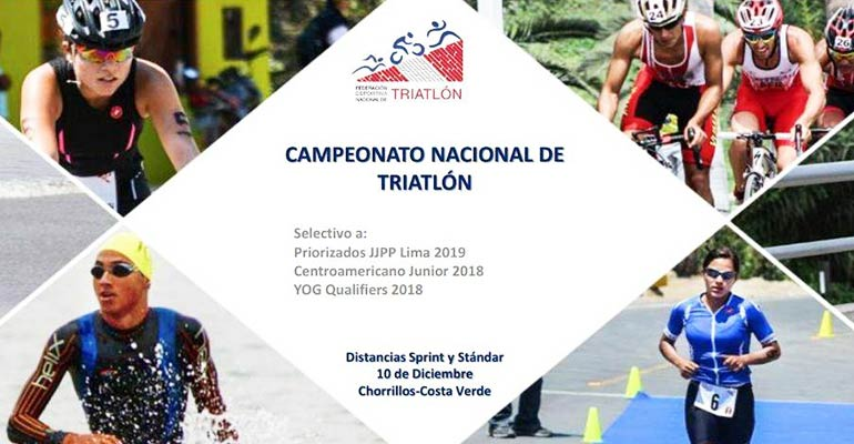 Cuarta Fecha del Circuito Nacional de Triatlón 2017 - Costa Verde