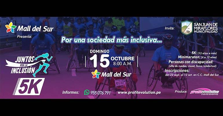 Juntos por La Inclusión 5K 2017