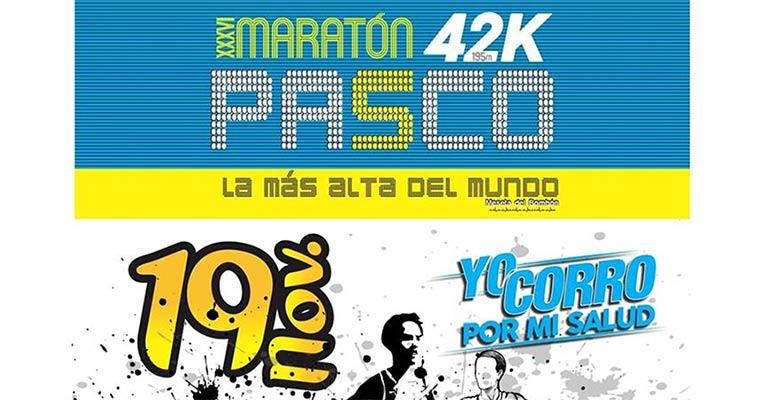 Maratón 42K Pasco 2017