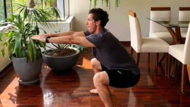 4 ejercicios para mantenerte en movimiento durante la cuarentena
