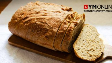 Pan al horno sin gluten